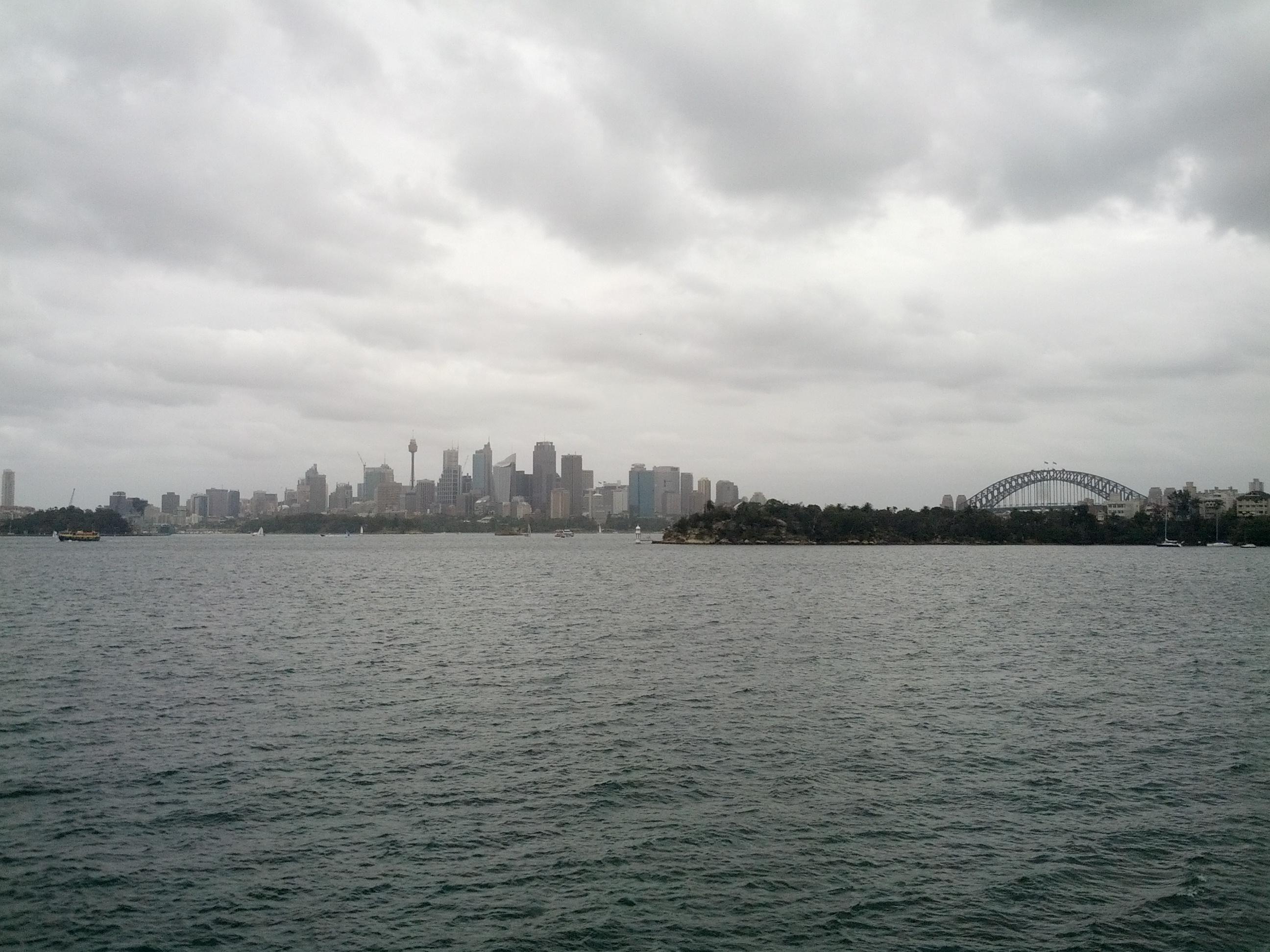 City looks pretty far away already!
