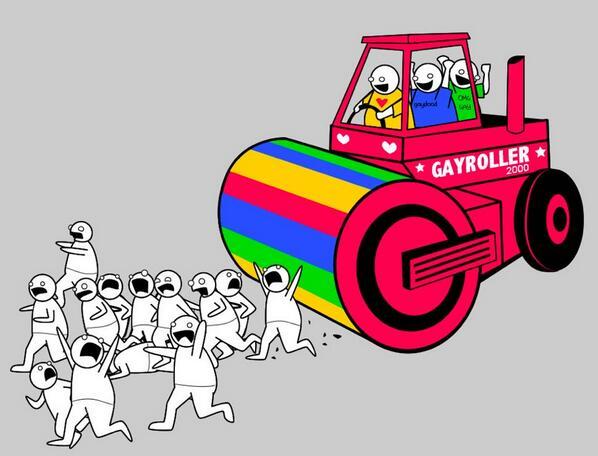 Unleash the Gayroller 2000!