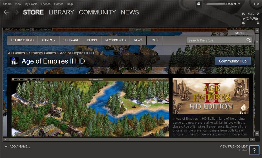 AOE 2 HD on Steam