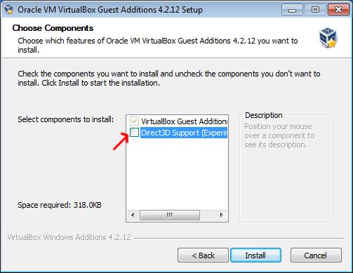3D support is an option, not a standard feature.