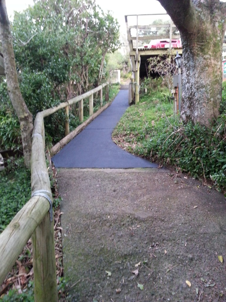 Slick new path!